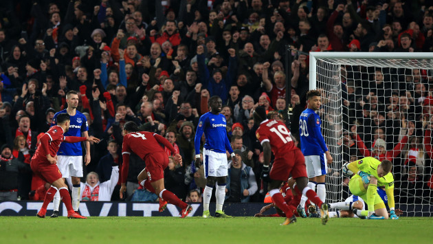 Liverpool v Everton - FA Cup - Third Round - Anfield