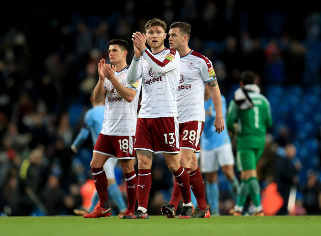 Manchester City v Burnley - Emirates FA Cup - Third Round - Etihad Stadium