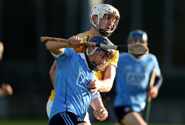 Cillian Costeloe with Conor McKinely