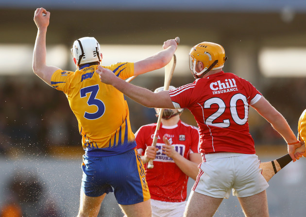 Conor Cleary with Declan Dalton