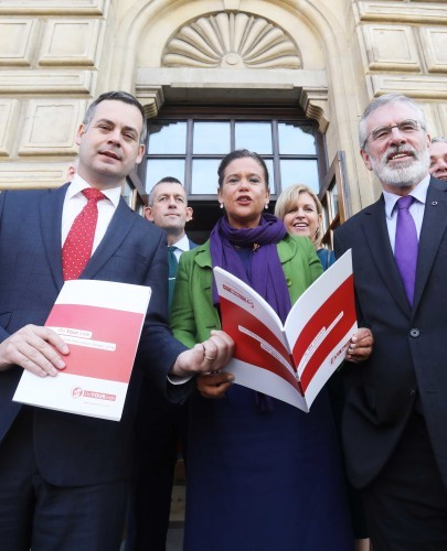 File Photo Sinn Féin's Finance spokesperson Pearse Doherty has said he does not want to lead the party at the present time