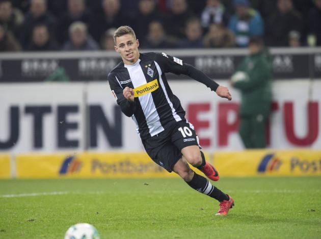 Fussball 1. Bundesliga/ Bor. Borussia Monchengladbach - FC Bayern Munich 2:1