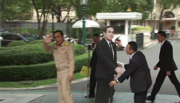 Thailand Cardboard Prime Minister