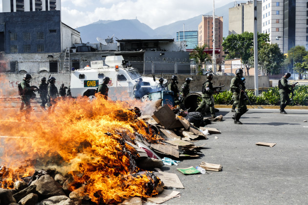 Venezuela: Protest Against Nicolas Maduro Government in Caracas