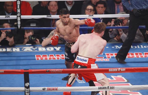 Saul Canelo Alvarez vs Amir Khan - WBC Middleweight - Las Vegas