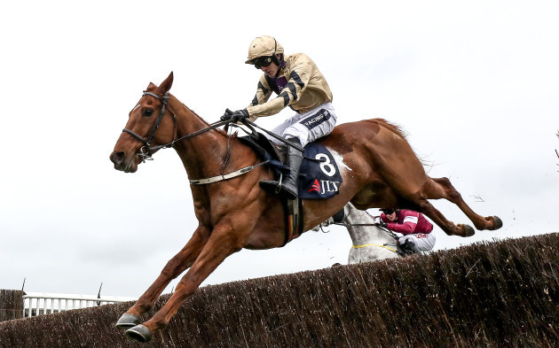 Yorkhill ridden by Ruby Walsh comes home to win