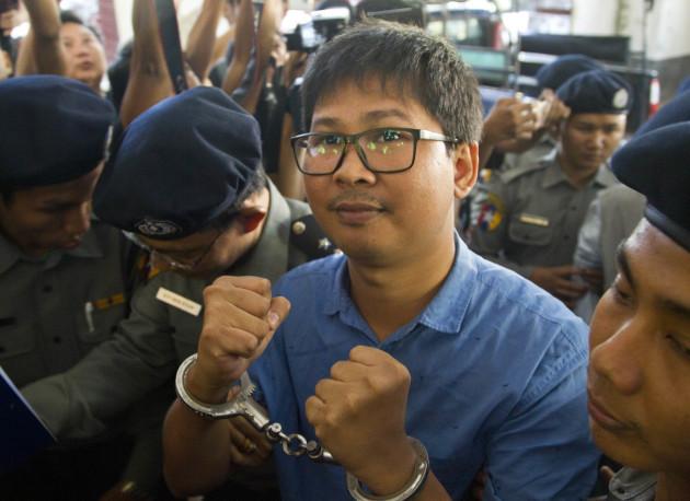 Myanmar Journalists Arrest
