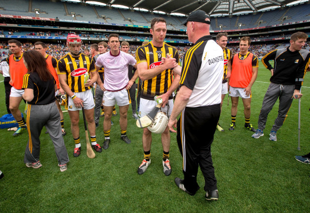 Michael Fennelly and Brian Cody