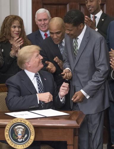 DC: Trump Signs MLK, Jr. Day Proclamation