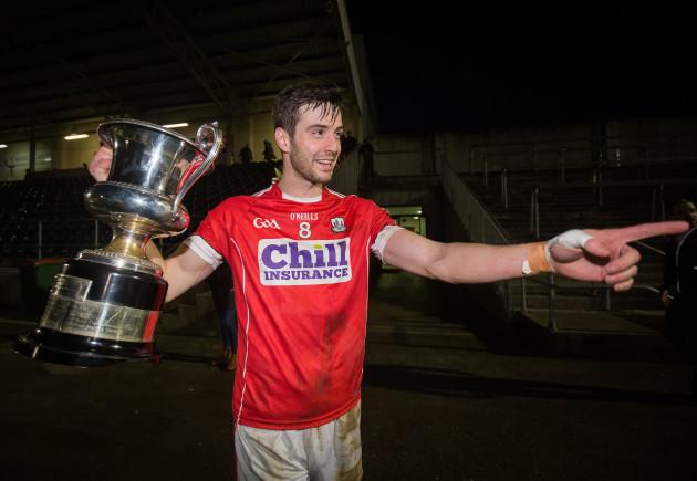 Jamie O'Sullivan with the McGrath Cup