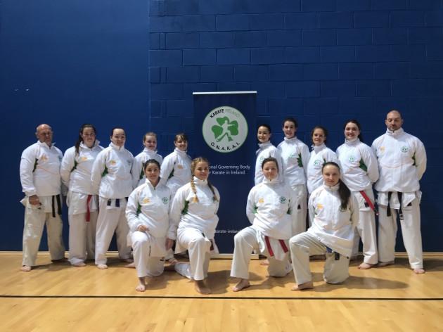 Senior Karate Womens Team