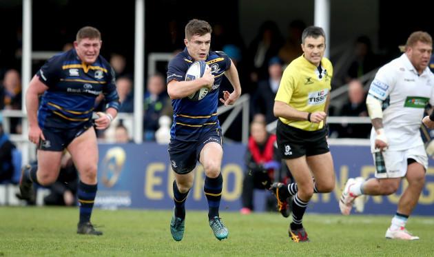 Luke McGrath makes a break