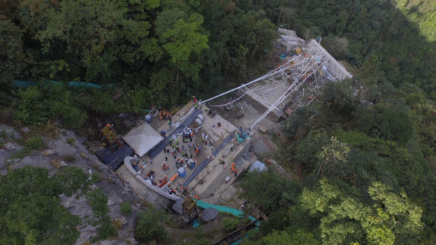 COLOMBIA-META-BRIDGE COLLAPSE