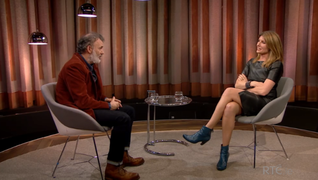Tommy Tiernan's interview with Sharon Horgan was a bit