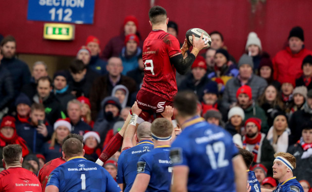 Conor Murray in the line-out