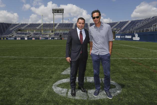 Ricardo Silva Stadium Unveiling - Miami
