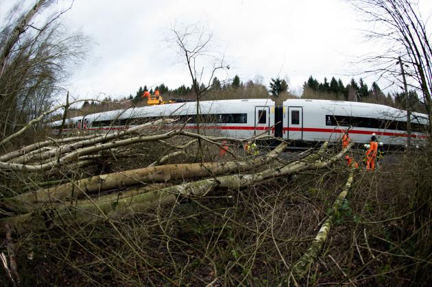 Storm Friederike - Upper Harz