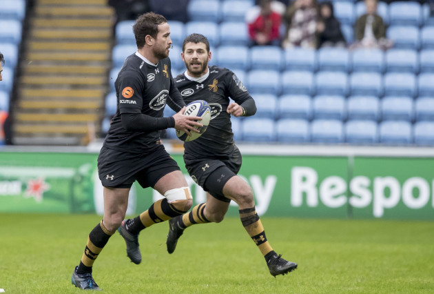 Danny Cipriani and Willie Le Roux