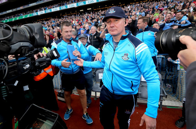 Jim Gavin at the final whistle