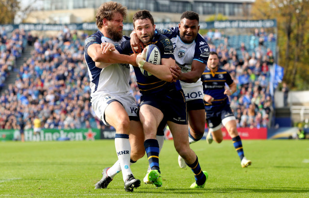 Barry Daly scores his sides fourth try despite Frans Steyn and Timoci Nagusa