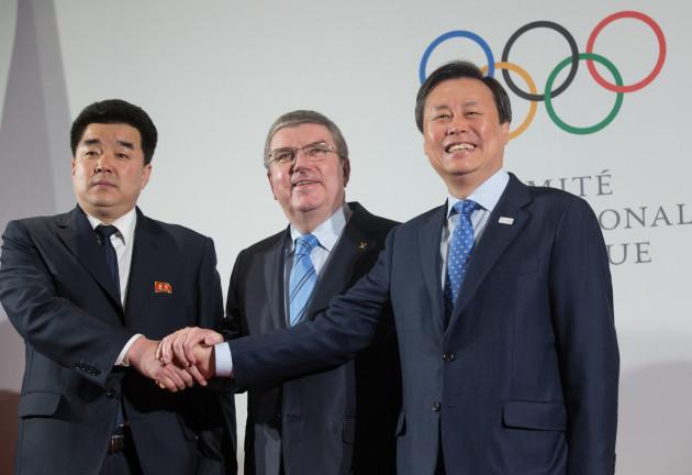 (SP)SWITZERLAND-LAUSANNE-IOC-PYEONGCHANG WINTER OLYMPICS-MEETING