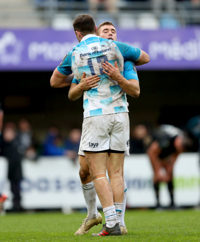 Robbie Henshaw and Jordan Larmour