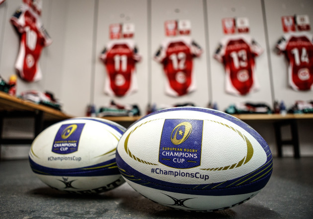 A view of the Ulster dressing room 21/1/2018