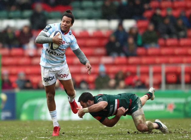Leicester Tigers v Racing 92 - European Rugby Champions Cup - Pool Four - Welford Road