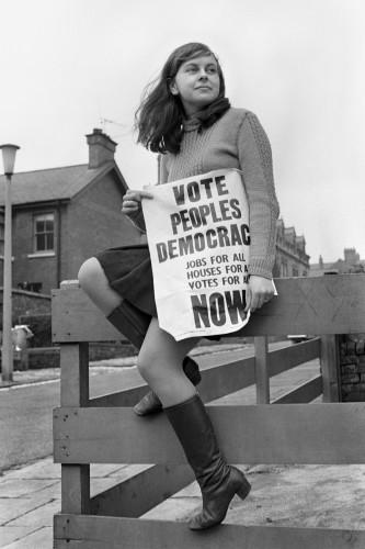 Politics - Britain's Youngest Female MP - Bernadette Devlin - Belfast - 1969