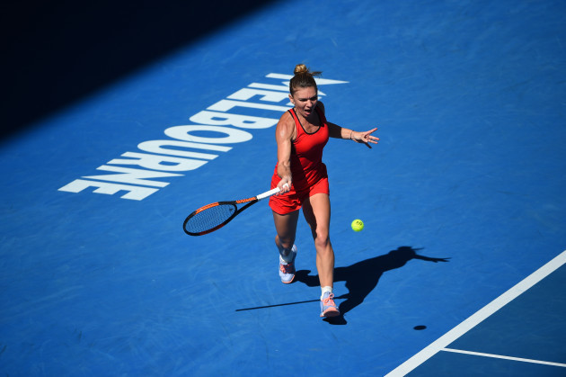 Australian Open - Simona Halep Reaches Semi-Final