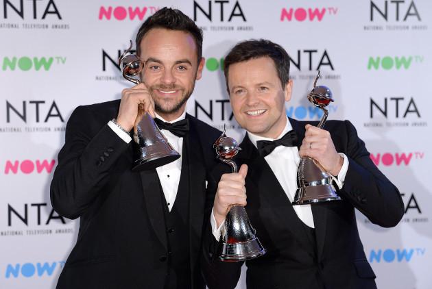 National Television Awards 2018 - Press Room - London