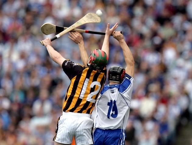 Eoin Larkin with Shane O'Sullivan