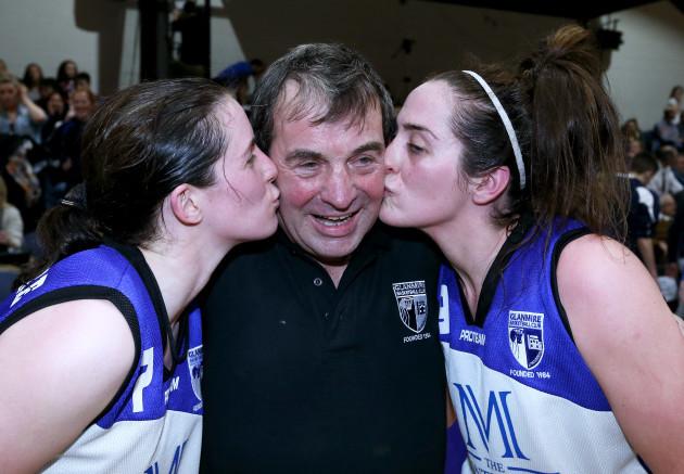 Niamh, Grainne and Bill Dwyer