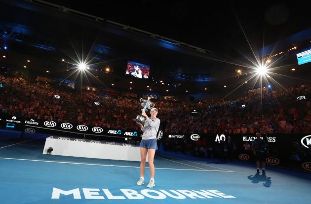 (SP)AUSTRALIA-MELBOURNE-TENNIS-AUSTRALIAN OPEN-FINAL