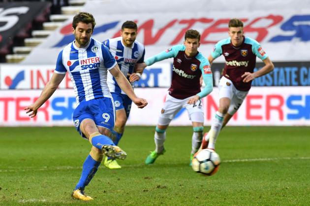 Wigan Athletic v West Ham United - Emirates FA Cup - Fourth Round - DW Stadium