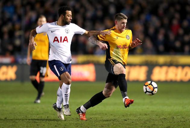 Newport County v Tottenham Hotspur - Emirates FA Cup - Fourth Round - Rodney Parade