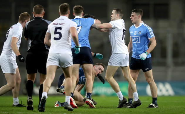 Tempers flare off the ball