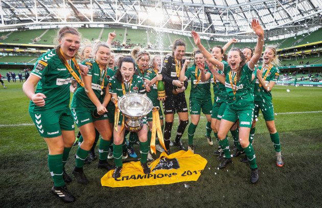 4f1c858afa4 Cork City announce merger with cup-winning women s team as club unveil new  away kits for 2018