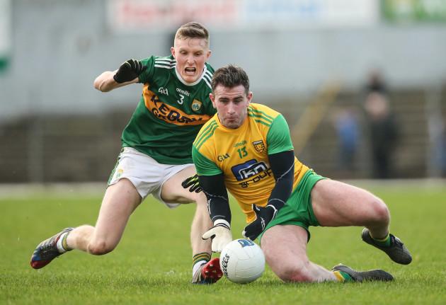 Jason Foley tackles Patrick McBrearty