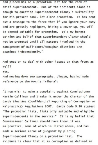mccabe transcripts 2012 2