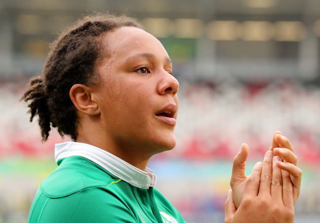 Sophie Spence dejected