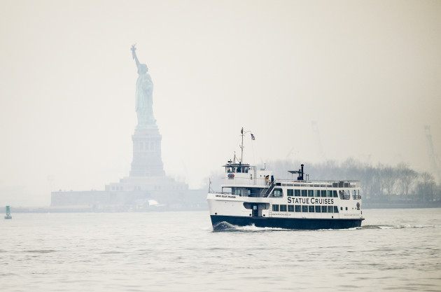 U.S.-NEW YORK-STATUE OF LIBERTY-REOPEN
