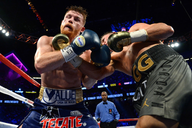 Boxing: Canelo vs Golovkin