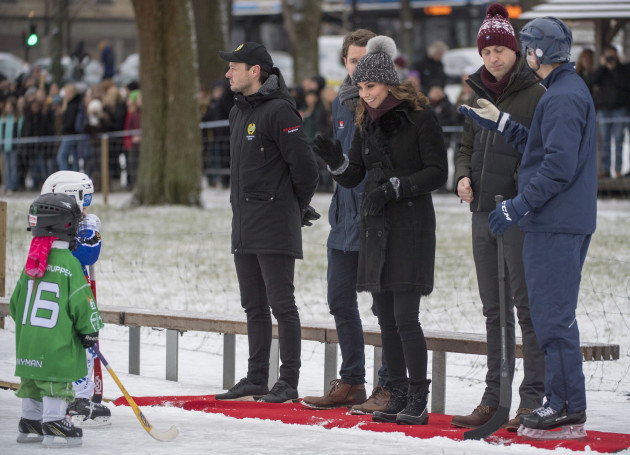 Royal visit to Scandinavia - Day One