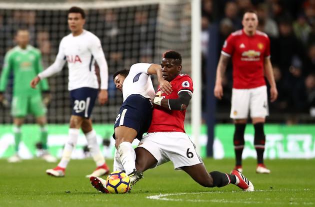 Tottenham Hotspur v Manchester United - Premier League - Wembley