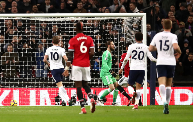 Tottenham Hotspur v Manchester United - Premier League - Wembley