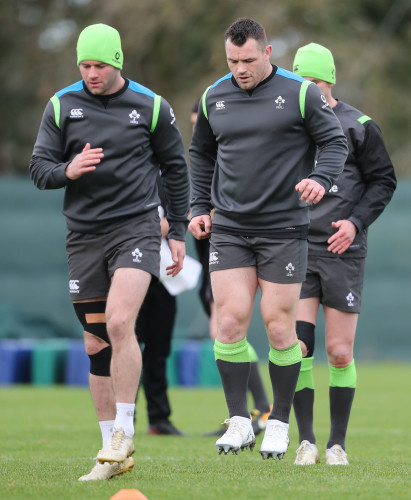 Fergus McFadden and Cian Healy