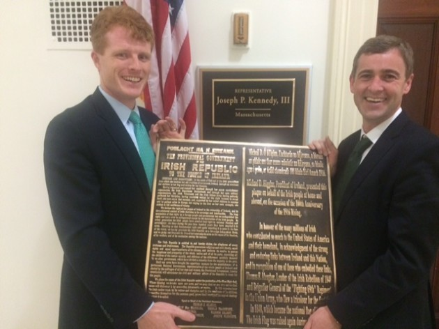 Congressman Kennedy and Senator Mark Daly