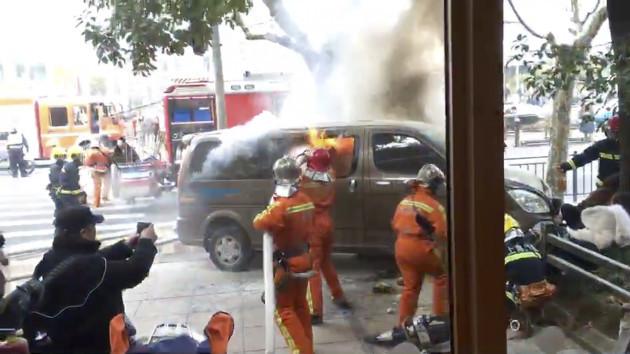 China Shanghai Crash