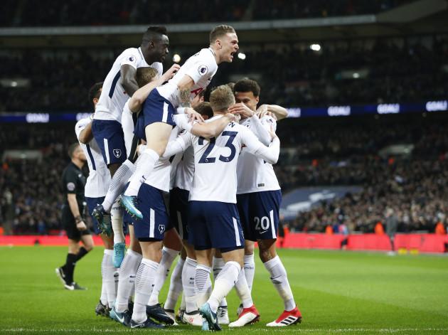 (SP)BRITAIN-LONDON-FOOTBALL-HOTSPUR VS MAN UNITED
